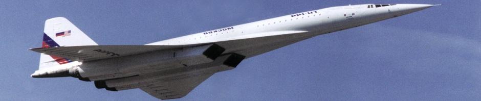 Tupolev Tu-144L Supersonic Laboratory